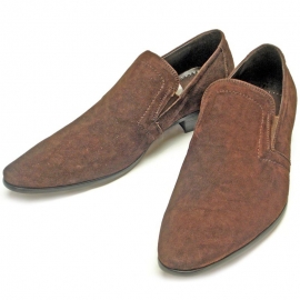 FI-3024 Brown Suede Encore By Fiesso