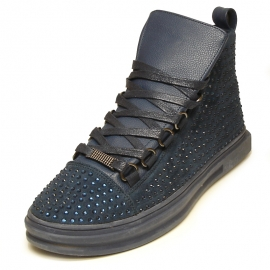 FI-2257 Navy Encore by Fiesso Sneaker Boot