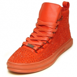 FI-2257 Red Encore by Fiesso Sneaker Boot